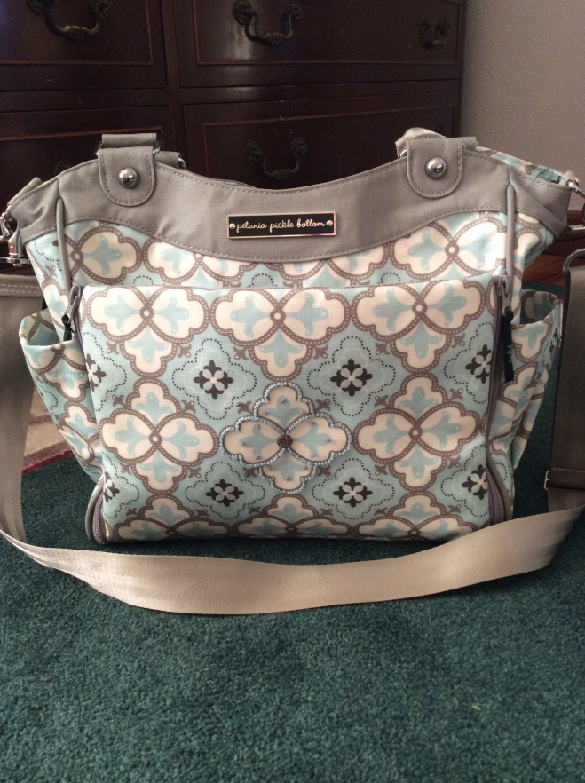 My new diaper bag.